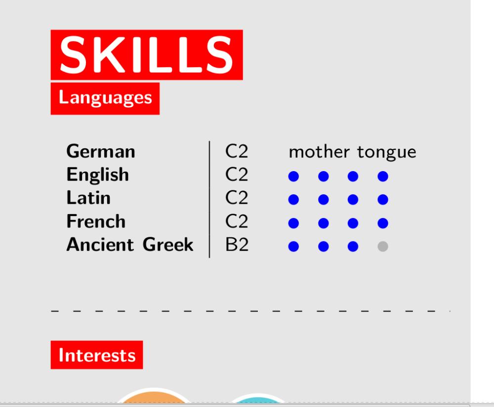 cv-languages