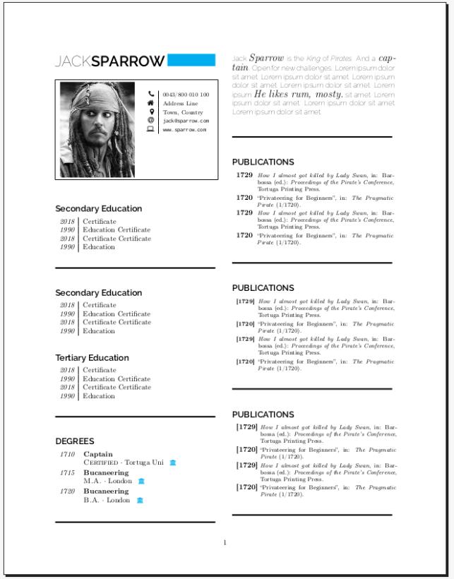 Latex Cv Template from l4texninja.files.wordpress.com