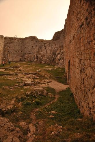 Cathars were burnt here in 1244